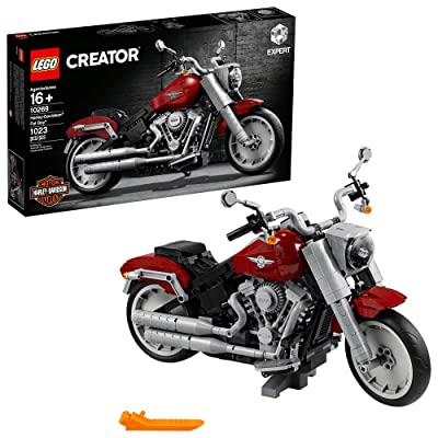 LEGO Creator Expert Harley-Davidson Fat Boy 10269 Building Kit, New 2020 (1,023 Pieces): Toys & Games