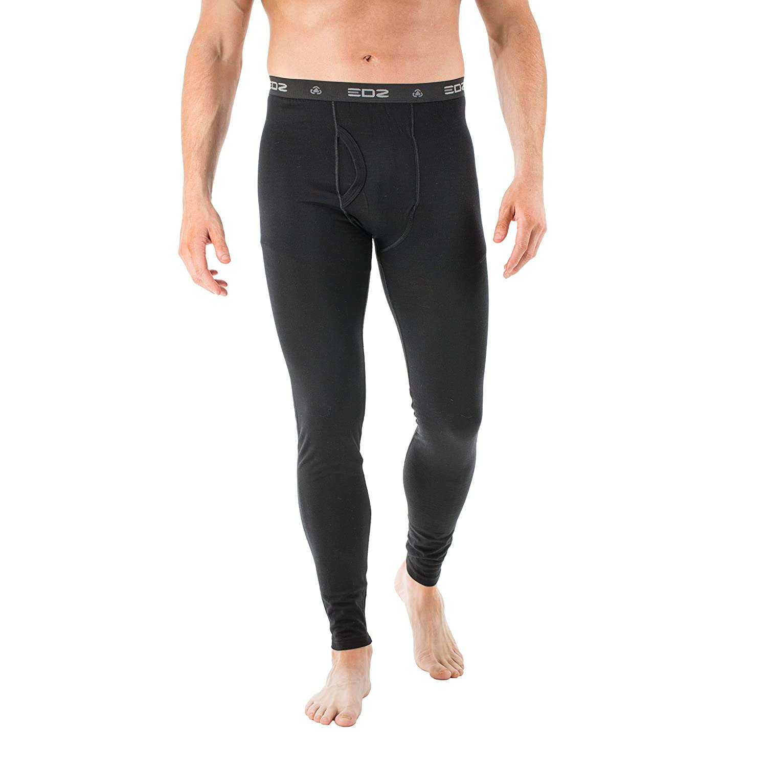 EDZ 200g Merino Wool Base Layer Leggings Graphite