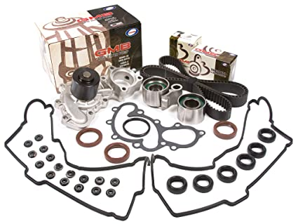 Evergreen TBK271VC Fits Toyota 4Runner 3 4L 5VZFE Timing Belt Kit Valve  Cover Gasket GMB Water Pump