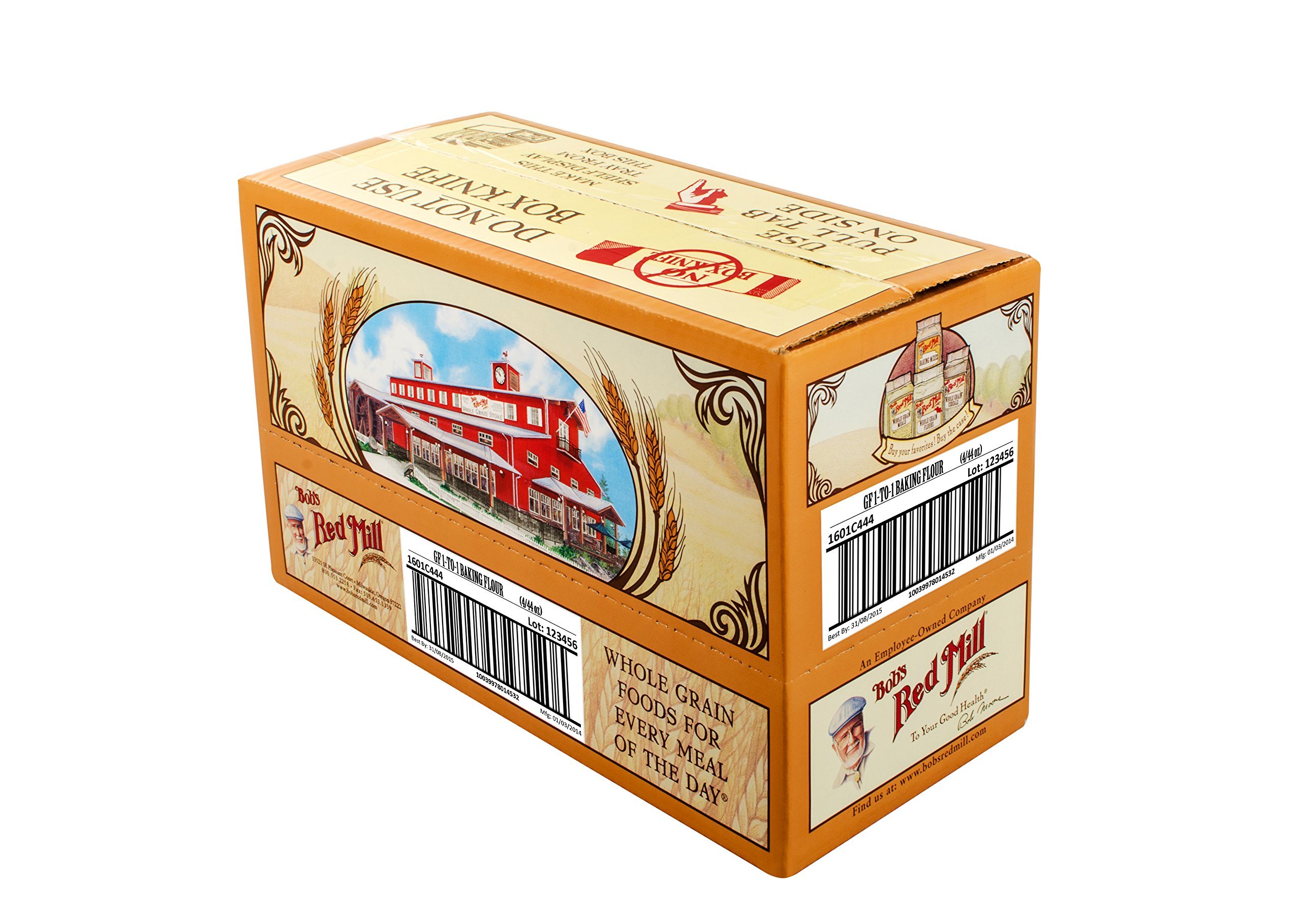 Bob's Red Mill Gluten Free 1 to 1 Baking Flour, 44 Ounce (Pack of 4) by Bob's Red Mill (Image #6)