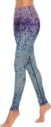 Zeagoo Yoga Pants Ultrasoft Performance Active Stretch High Waisted Running Leggings