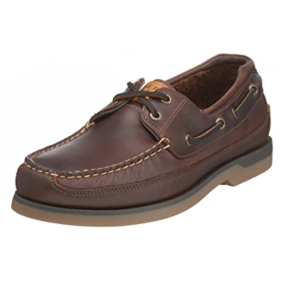 Sperry Top-Sider Men's Mako 2-Eye Canoe Moc Lace-Up, Amaretto