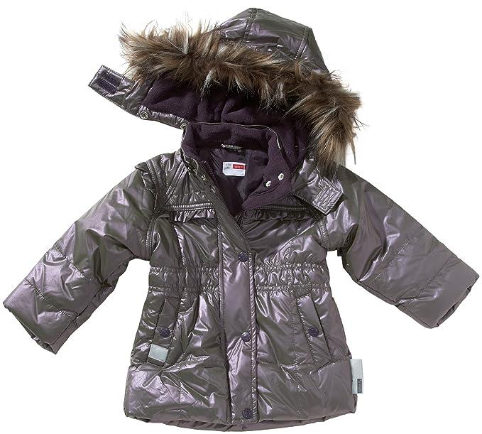 NAME IT - Abrigo para niña violeta de 100% poliéster, talla: 86cm (