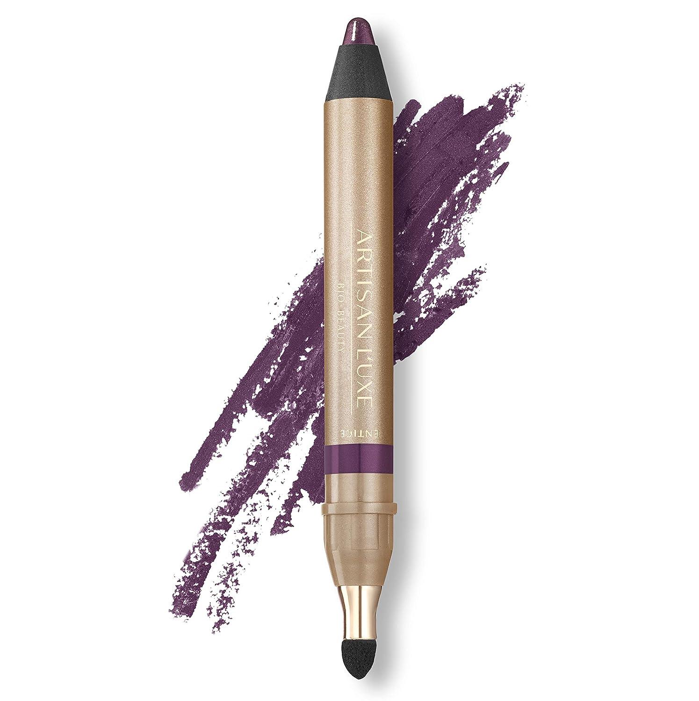 Amazon.com: Lápiz delineador de ojos Artisan L'uxe Beauty Velvet Jumbo,  ojos ahumados en 3 minutos, resistente al agua, a prueba de manchas, de  larga duración, aceites esenciales antiedad, entice (tono: violeta): Beauty