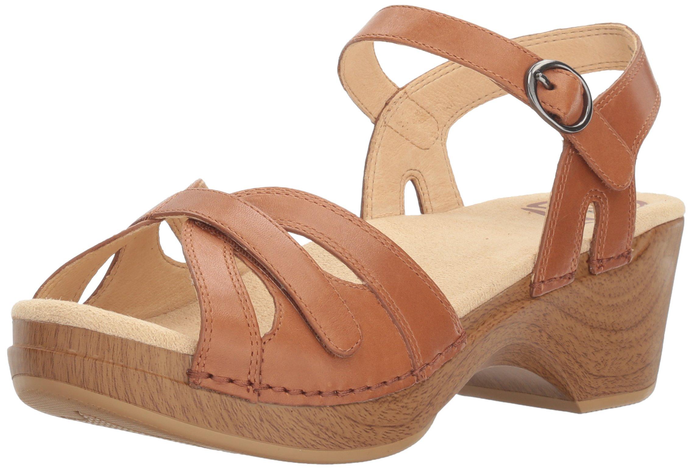 9fca9e84860f Galleon - Dansko Women s Season Flat Sandal