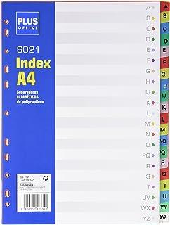 Filofax 131608 - Separadores para agenda A5 (hojas ...