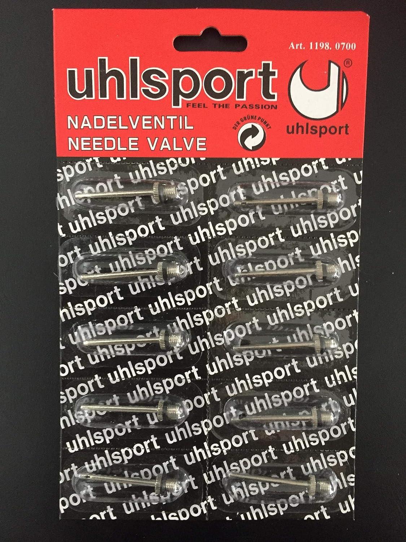 Pack of 10 uhlsport Needle Valves