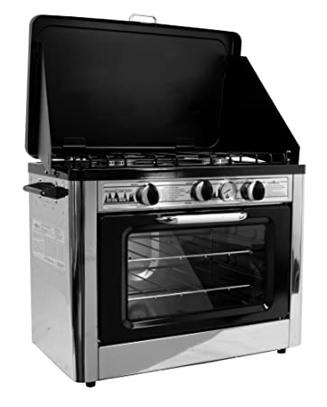 Camp Chef Camping Outdoor Oven With 2 Burner Stove
