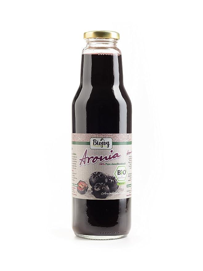 Zumo de Aronia 100% zumo de aronia prensado en frío Sin Azúcar (500 ml): Amazon.es: Alimentación y bebidas