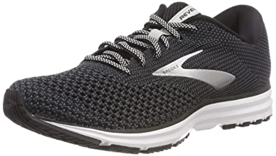 3e32547e98 Brooks Women s Revel 2 Black Grey Grey 5 ...