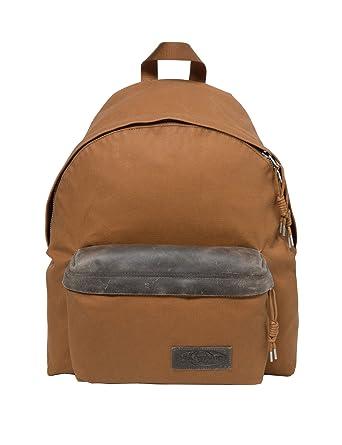 Eastpak Unisex Padded Pak'r Axer Brown Backpack 100% Cotton