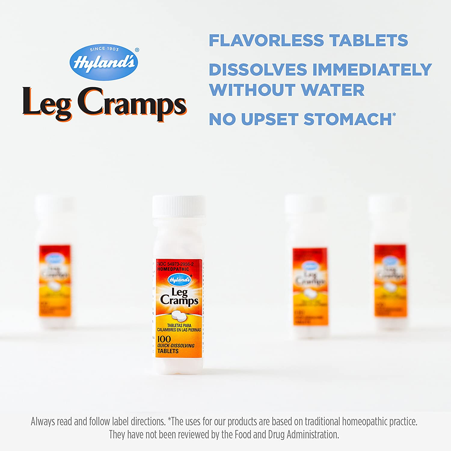 Amazon.com: Hyland's Leg Cramp Tablets, Natural Relief of Calf ...