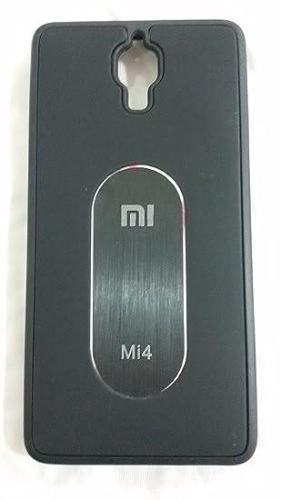 new arrival 74009 409e9 Xiaomi Mi4 back cover (Black): Amazon.in: Electronics