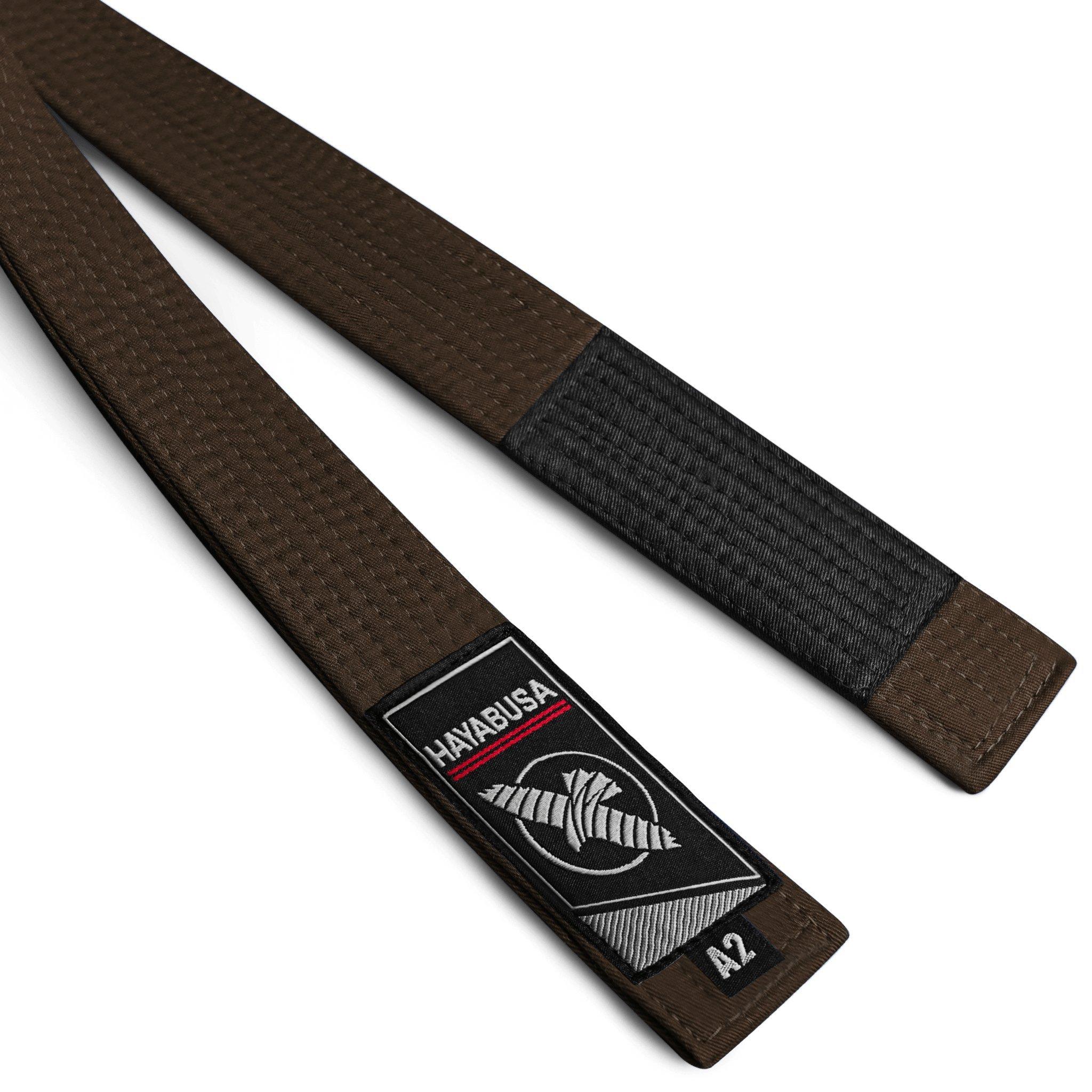 Hayabusa Unisex Jiu Jitsu Belt (New | 2018) (Brown, A0) by Hayabusa