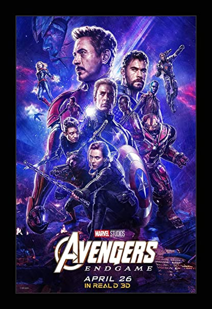 Amazon Com Wallspace 11x17 Framed Movie Poster Avengers Endgame