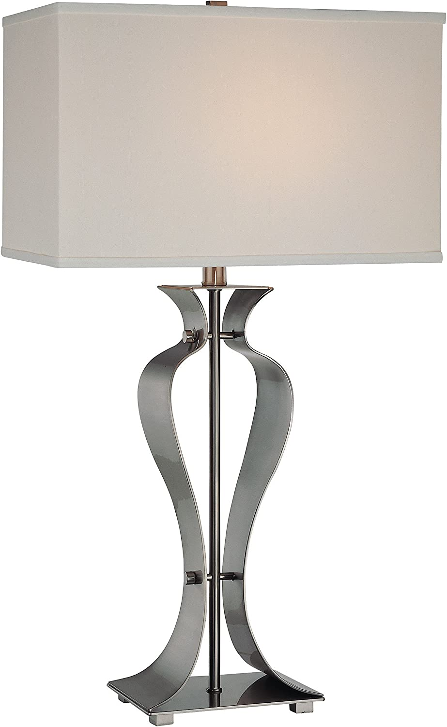 Lite Source LS-21243PS Gada Table Metal wit Lamp Polished Steel Attention brand Cheap SALE Start