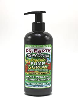 product image for Dr. Earth Organic & Natural Pump & Grow Home Grown Tomato & Vegetable Fertilizer 16 oz, Green