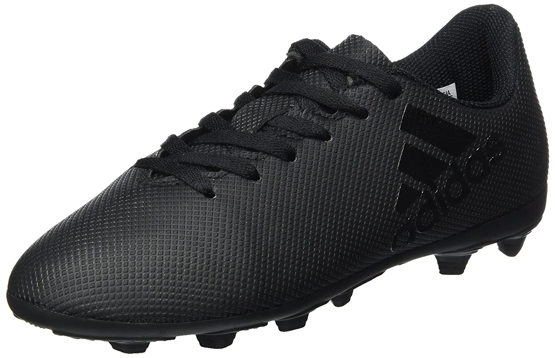 adidas X 17.4 FxG, Chaussures de Football Homme, Multicolore (Core Black/Solar Red/Solar Orange), 44 2/3 EU