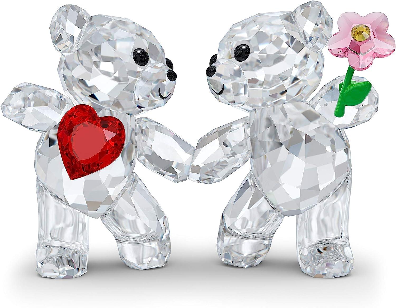 SWAROVSKI Kris Bear Happy Together Figurine, One Size, Multi