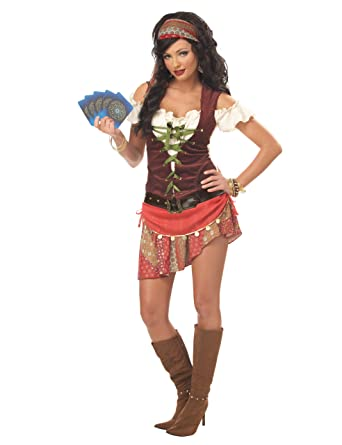 california costumes womens mystic gypsy costumemultismall