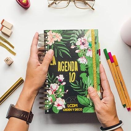 LA AGENDA 10 LCDM: Amazon.es: Oficina y papelería