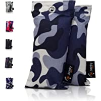 Dr. Stinky Feet Activated Charcoal Shoe Deodorizer Bags and Odor Eliminator. CAMO Collection with moisture absorber clay…