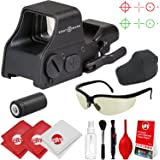 Circuit City Sightmark Ultra Shot Plus Reflex Red/Green Dot Rifle Sight w/Tinted Ballistic Glasses and Optical Cleaning Kit (SM26008)