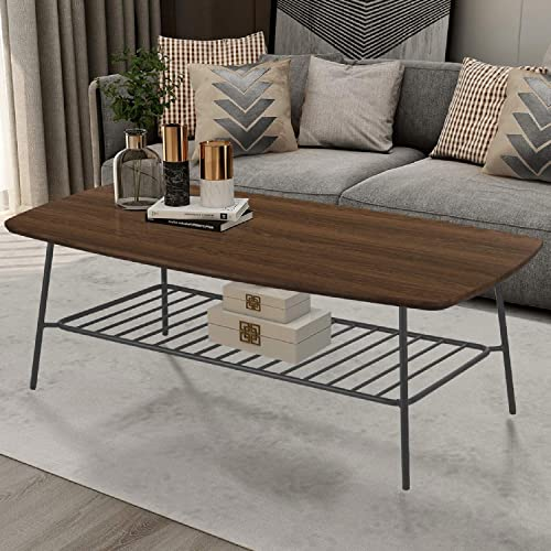 FINECASA Industrial Coffee Table
