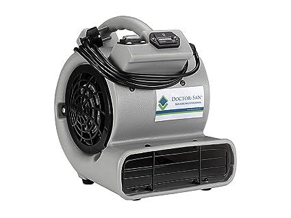 Doctor de San DS de 7008 Radial Turbo Ventilador, profesional de ventiladores para secado de