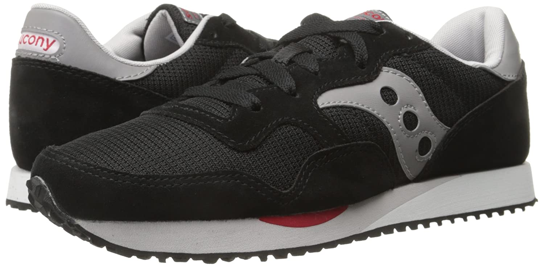 Saucony Originals Men s DXN Trainer Classic Retro Running Shoe Black/Grey 7 M US