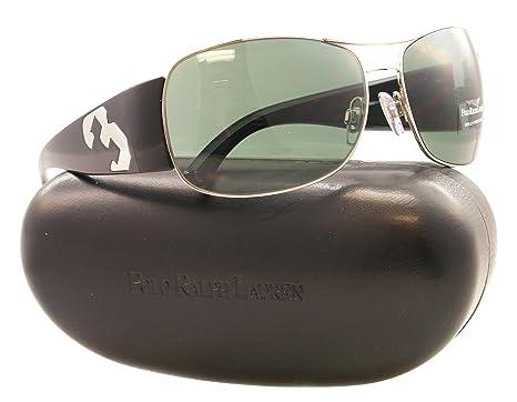 Amazon.com: Polo anteojos de sol PH 3042, Plateado: Polo ...