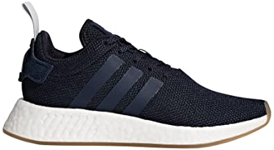 half off 9ca4d ffcba adidas Originals Women s NMD R2 W Running Shoe, Legend Ink Trace Blue Grey  Two
