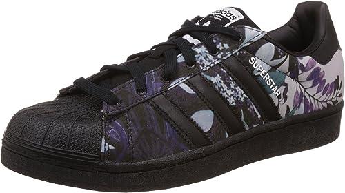 adidas Superstar, Women's Trainers, Floral Print-Black Stripe ...