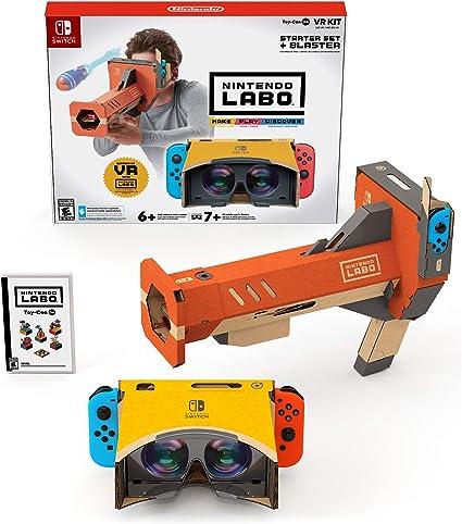 Nintendo Labo Toy-con 04: VR Kit - Starter Set + Blaster - Nintendo Switch [Importación inglesa]: Amazon.es: Videojuegos