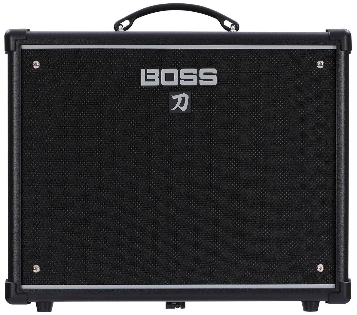 BOSS Katana KTN-50 50W 1x12 Guitar Combo Amplifier Black 761294509296 by BOSS Audio