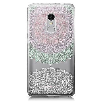 CASEiLIKE Funda Redmi Note 4, Carcasa Xiaomi Redmi Note 4, Arte de la Mandala 2092, TPU Gel Silicone Protectora Cover