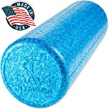 High Density Muscle Foam Rollers by Day 1 Fitness – 4 SIZE OPTIONS and 7 COLORS TO CHOOSE FROM - Sports Massage Rollers for Stretching, Physical Therapy, Deep Tissue and Myofascial Release -Exercise