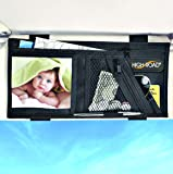 High Road Visor Organizer with Zip Pockets and Padded Sunglasses Compartment
