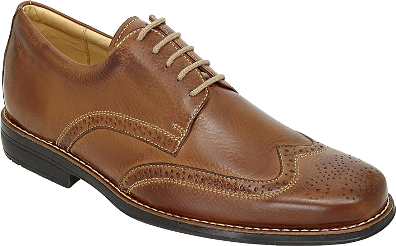 Anatomic&Co Manaus  Up  Herren Smart Lace Up  Schuhe Leder Cognac bb2951