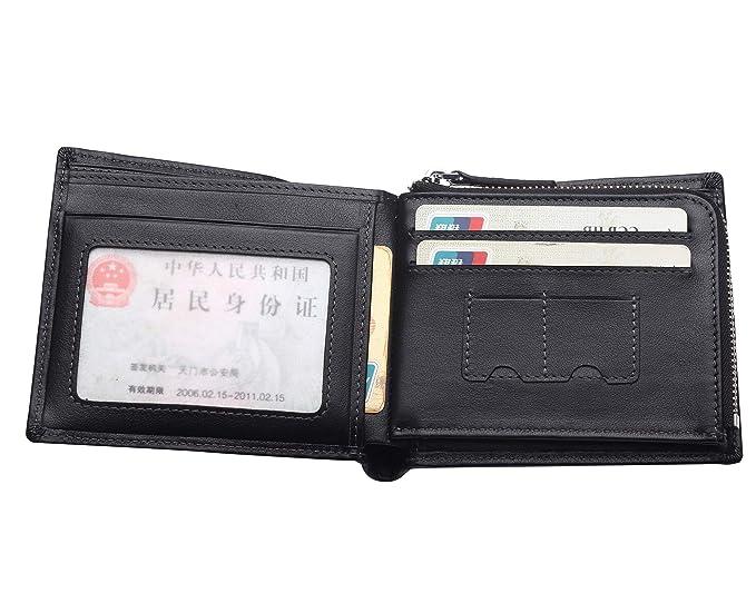 Amazon.com: Bison Denim elegante carteras de piel para ...