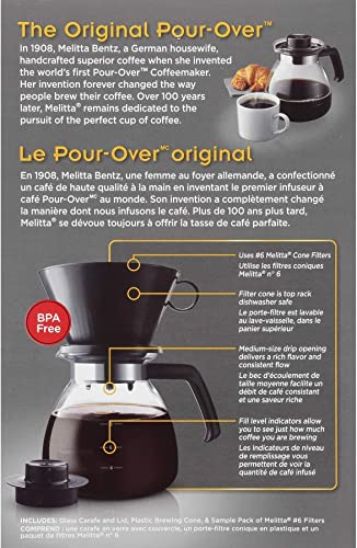 Melitta 52 oz. Pour Over Coffee Brewer