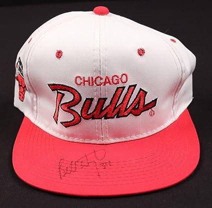 80cc8276d Bill Wellington Bulls Signed NBA Sports Specialties Hat - COA - JSA ...