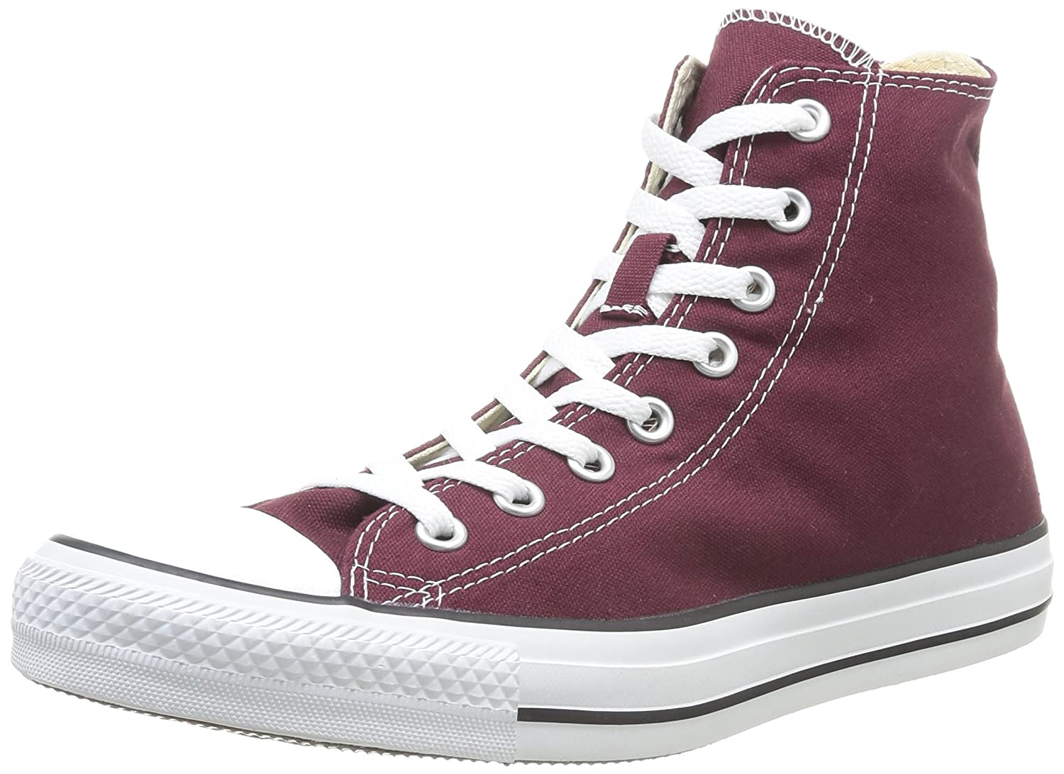 Converse Chuck Taylor All Star Seasonal Color Hi B00DV83BJU 10.5 D(M) US Men|Burgundy