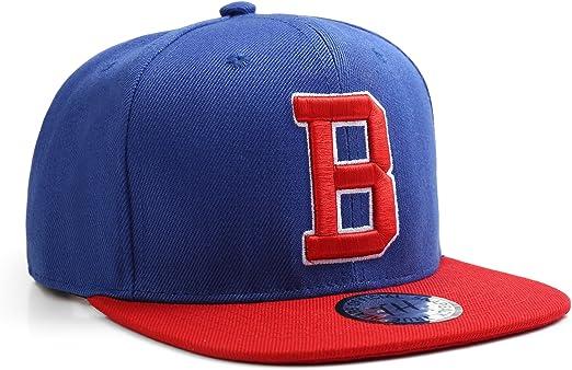 True Heads Letra B Nombre Inicial Unisex Snapback Gorra de béisbol ...