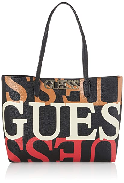 BORSE SHOPPING GUESS Donna BLACK Vendita BORSE SHOPPING