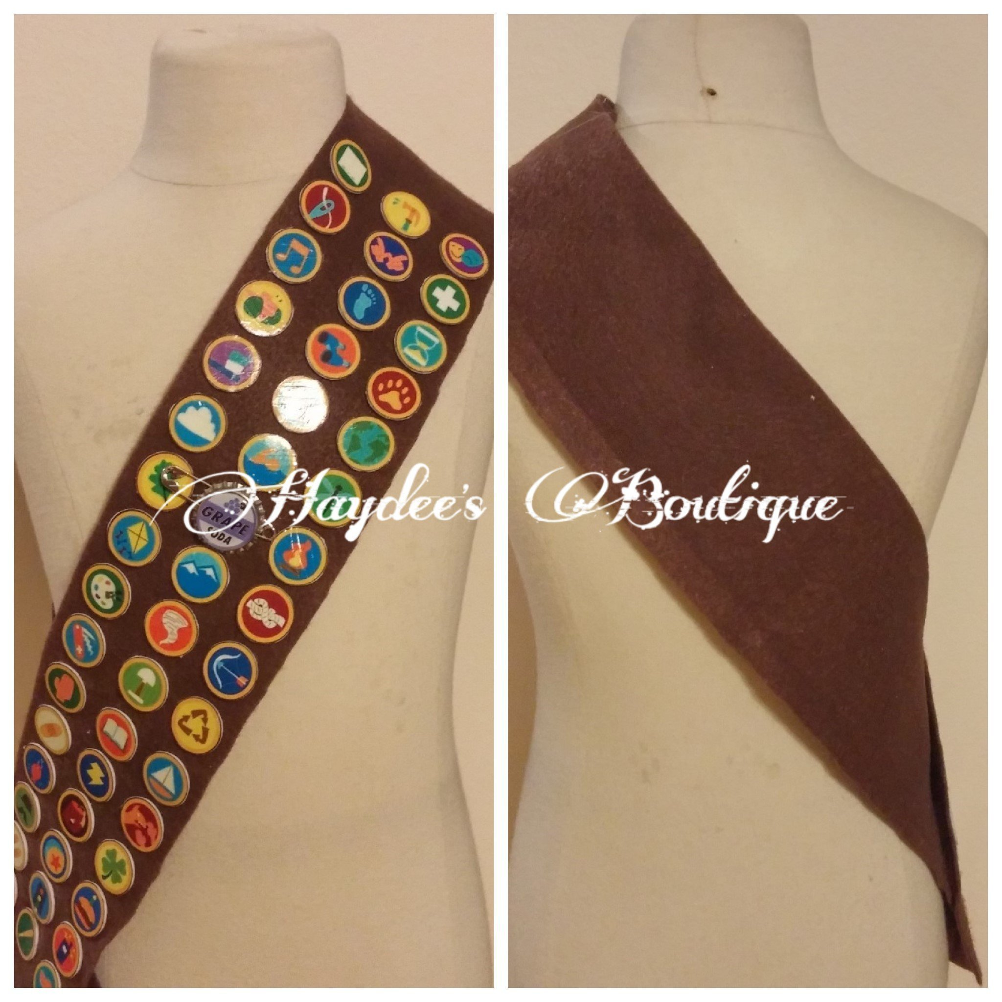 Wilderness Scout Sash Adult