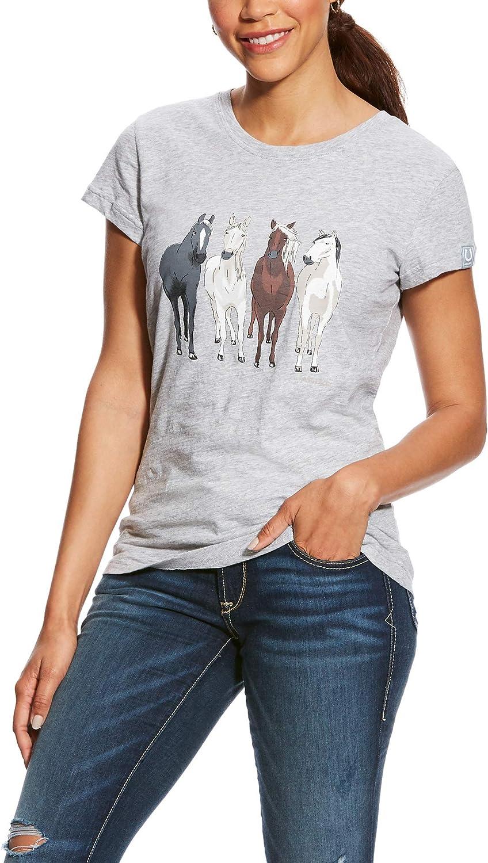 B07NTZLHYC ARIAT Women's 360 View T-Shirt Grey Size XL 81AXn-isR5L