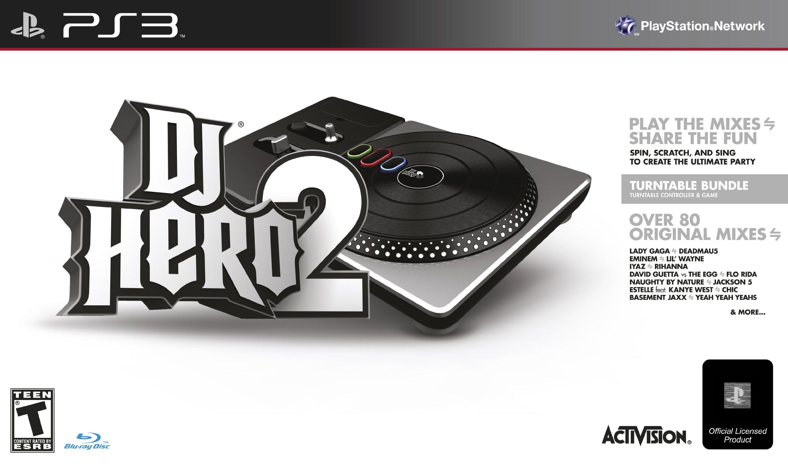 DJ Hero 2 Turntable Bundle - Playstation 3