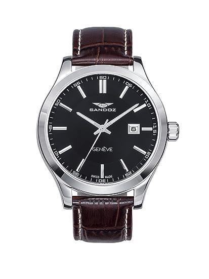 Reloj Suizo Sandoz Caballero 81377-57 Sport Collection: Amazon.es: Relojes