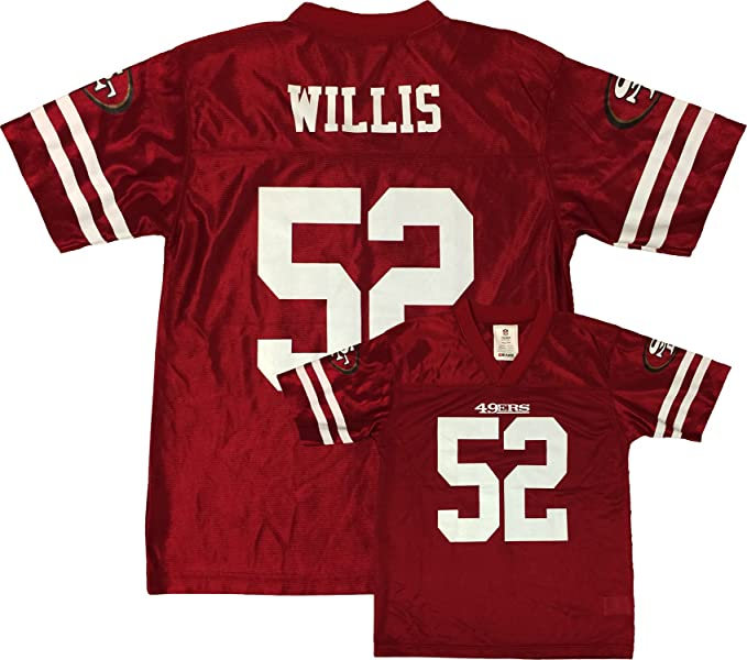 on sale 146d0 aa666 Patrick Willis San Francisco 49ers Red Home Player Jersey Youth